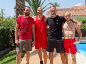 Fabio Di Lauro, Mario Bortolozzi, Simone Pietrobono e Michele Perri